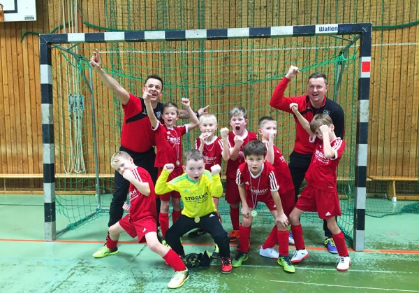 U9-Junioren holen sich Turniersieg in FFB