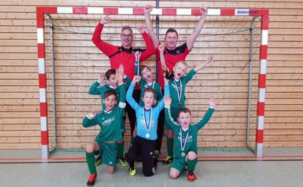 U9-Junioren mit erneutem Turniersieg in Egling